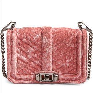 Rebecca Minkoff Small Love Velvet Crossbody Bag
